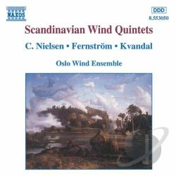 Oslo Wind Ensemble - Scandinavian Wind Quintets CD Cover Art