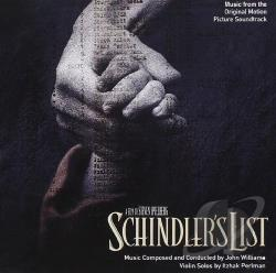 Schindler's List CD Cover Art