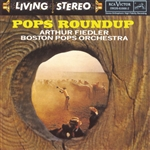 Fiedler, Arthur - Pops Roundup CD Cover Art