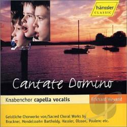 Boys Choir Capella Vocalis / Weyand - Cantate Domino CD Cover Art