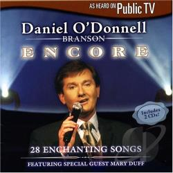 O'Donnell, Daniel - Branson Encore CD Cover Art