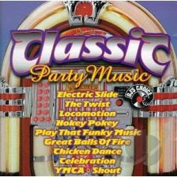 Classic Party Music CD Cover Art