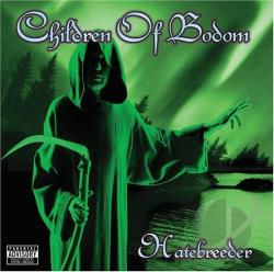 Children Of Bodom - Hatebreeder CD Cover Art