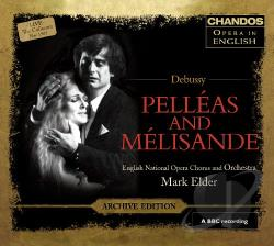 Dean / Debussy / Hannon / Howlett / Walker - Debussy: Pelleas and Melisande CD Cover Art