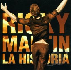 Martin, Ricky - Historia CD Cover Art