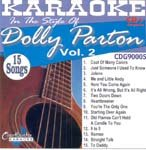 Parton, Dolly - Karaoke: Dolly Parton 2 CD Cover Art