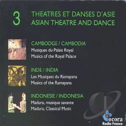 Theatre And Dance From Asia CD Cover Art