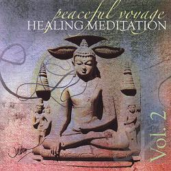 Atp, Jean Kowalski - Peaceful Voyage Healing Meditation 2 CD Cover Art