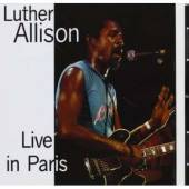 Allison, Luther - Live in Paris CD Cover Art