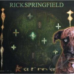 Springfield, Rick - Karma CD Cover Art