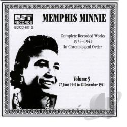 Memphis Minnie - Complete Recorded Works, Vol. 5 (1935 - 1941) CD Cover Art