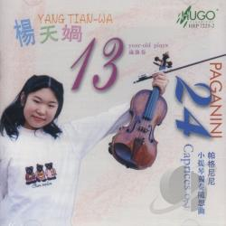 Paganini, N. - 13/24 - Paganini: 24 Caprices For Violin / Yang Tian-Wa CD Cover Art