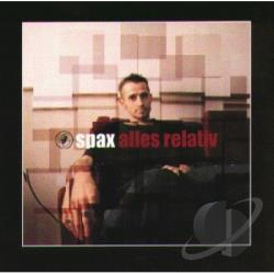 Spax - Alles Relativ CD Cover Art