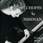 Chopin by Nissman CD Cover Art