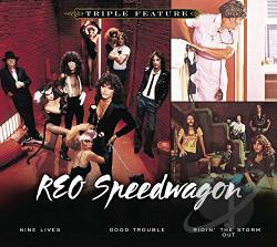 REO Speedwagon - Triple Feature CD Cover Art