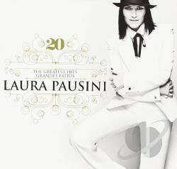 Pausini, Laura - 20: The Greatest Hits/Grandes Exitos CD Cover Art