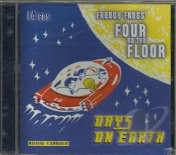 Freddy Frogs Four On The Floor - Days On Earth CD Cover Art