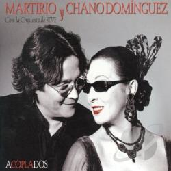 Dominguez, Martirio & Chano - Acoplados CD Cover Art