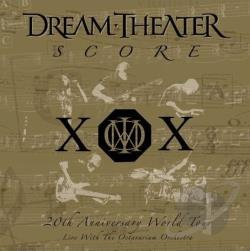 Dream Theater - Score: 20th Anniversary World Tour Live With the Octavarium Orchestra CD Cover Art