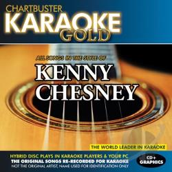Karaoke - Chartbuster Karaoke Gold: Kenny Chesney CD Cover Art