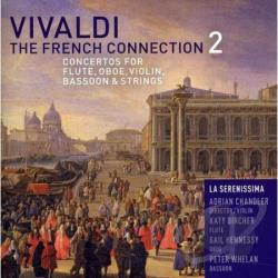 La Serenissima - Vivaldi: The French Connection 2 CD Cover Art