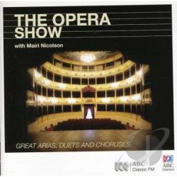 Opera Show CD Cover Art