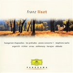 Argerich, Martha - Panorama: Franz Liszt CD Cover Art