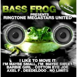 Bass Frog Presents: Ringtone Megastars United CD Cover Art