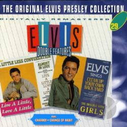 Presley, Elvis - Live a Little, Love a Little/Charro!/The Trouble with Girls/Change of Habit CD Cover Art