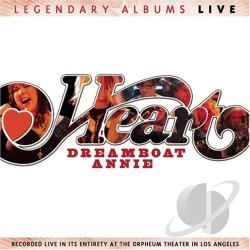 Heart - Dreamboat Annie Live CD Cover Art
