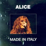 Alice - Made in Italy CD Cover Art