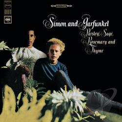 Simon & Garfunkel - Parsley, Sage, Rosemary and Thyme CD Cover Art