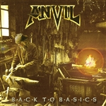 Anvil - Back to Basics CD Cover Art