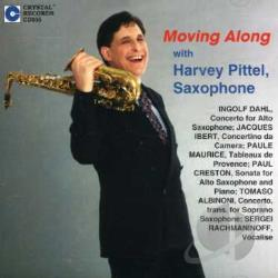 Helmer, Jeff / Pittel, Harvey - Moving Along CD Cover Art