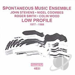 Spontaneous Music Ensemble - Low Profile CD Cover Art