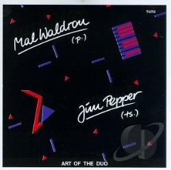 Pepper, Jim - Art of the Duo CD Cover Art
