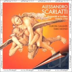 Scarlatti: Humanit� E Lucifero CD Cover Art