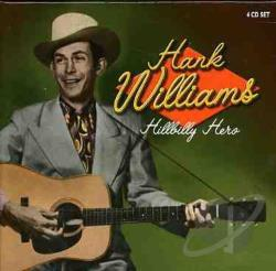 Williams, Hank - Hillbilly Hero CD Cover Art