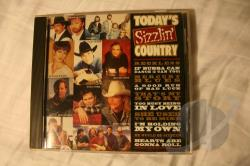 Today's Sizzlin' Country CD Cover Art