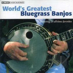 World's Greatest Bluegrass Banjos CD Cover Art