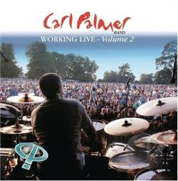 Palmer, Carl - Working Live-Vol. 2 CD Cover Art