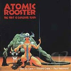 Atomic Rooster - First 10 Explosive Years CD Cover Art