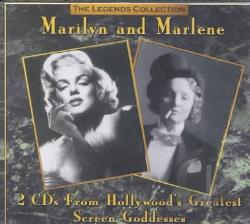Monroe, Marilyn - Legends Collection: Marilyn and Marlene CD Cover Art