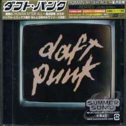 Daft Punk - Human After All: Remixes CD Cover Art