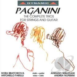 Bratchkova / Farulli / Paganini / Sebastiani - Complete Trios For Strings & Guitar / Serenata CD Cover Art