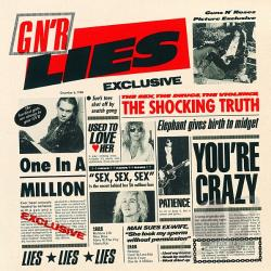 Guns N' Roses - G N' R Lies CD Cover Art