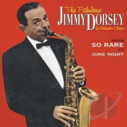 Dorsey, Jimmy - Fabulous Jimmy Dorsey CD Cover Art