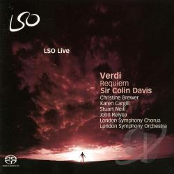 Brewer / Cargill / Davis / Lso / Neill / Verdi - Verdi: Requiem CD Cover Art