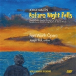 Ftwo / Illick / Martin, Jorge - Jorge Martin: Before Night Falls CD Cover Art
