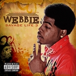 Webbie - Savage Life 3 CD Cover Art